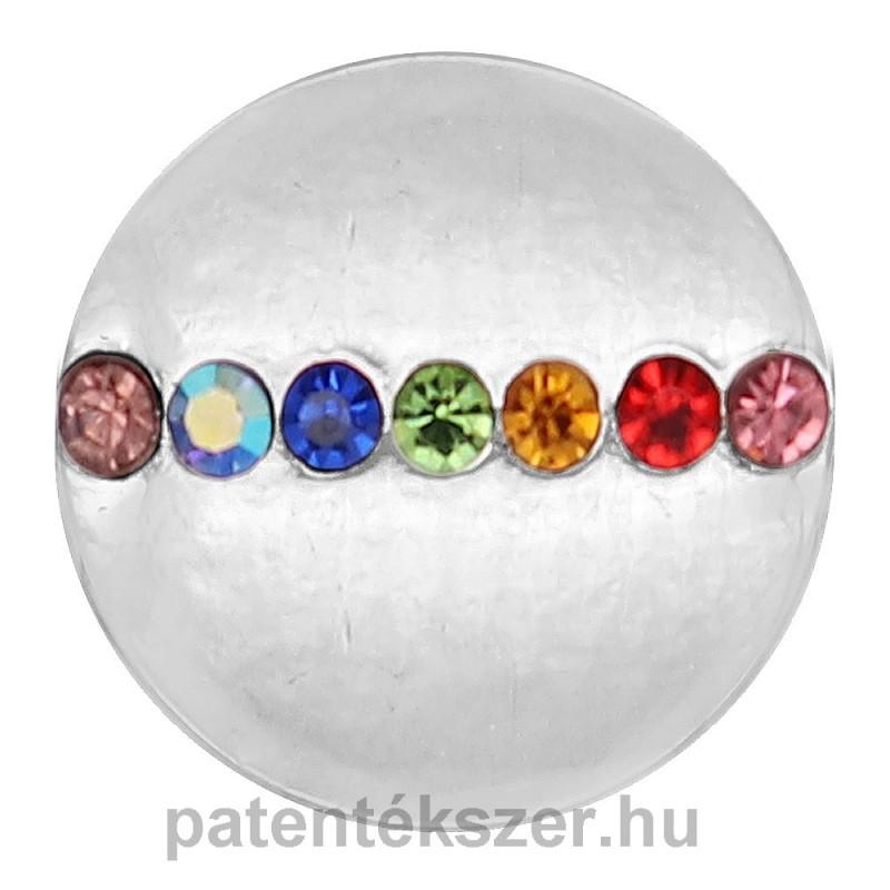 Kerek csakra patent kövekkel