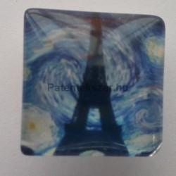 Eiffel torony Van Gogh háttérrel